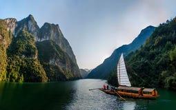 湖北八洞Shennongxi风景 免版税图库摄影
