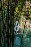 湖北夷陵长江三峡Dengyingxia在龙溪 免版税库存图片
