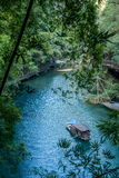 湖北夷陵长江三峡Dengyingxia在龙溪 库存照片