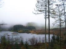 湖北部威尔士, Bwlch Nant亚利安 图库摄影