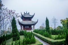 湖北巴东县重建县  图库摄影