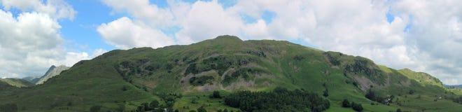 湖区国家公园一点Langdale Cumbria 免版税库存图片