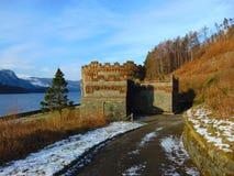 湖区水城堡 库存图片