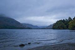 湖区 库存照片