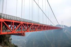 湖南湘西州Aizhai桥梁 库存图片