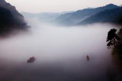 湖南郴州小东江风景 免版税库存照片