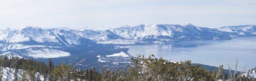 湖南tahoe冬天 免版税图库摄影