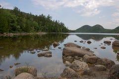 湖反射 免版税图库摄影