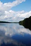 湖反射 免版税库存图片