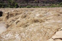 湖口大瀑布 库存图片
