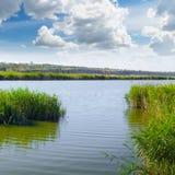 湖和天空 图库摄影