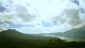 湖和登上Batur时间间隔  影视素材