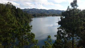 `湖和盐水湖` 06 图库摄影