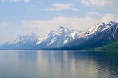 湖国家公园黄石 免版税图库摄影