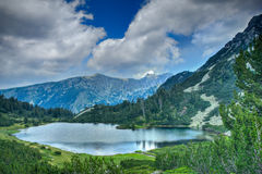 湖国家公园pirin 免版税库存图片