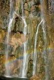 湖国家公园plitvice 免版税库存图片