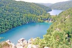 湖国家公园plitvice 图库摄影