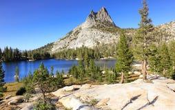 湖在优胜美地国家公园 免版税图库摄影
