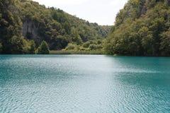 湖在克罗地亚 免版税库存照片
