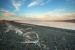 湖在北极 免版税库存图片