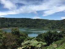 湖在哥斯达黎加 库存照片
