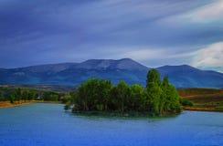 湖在塔拉索纳 库存图片