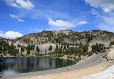 湖在拉森公园 库存图片