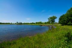 湖在理查发出当当声状态消遣地区 库存图片