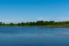 湖在理查发出当当声状态消遣地区 库存照片