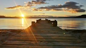 湖在罗托路亚 免版税图库摄影