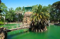 湖在萨马公园 库存照片