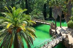 湖在萨马公园 免版税图库摄影