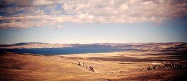 湖在西藏 免版税库存图片