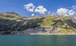 湖在高阿尔卑斯-奥地利 库存图片