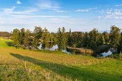 湖在巴伐利亚 库存照片