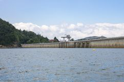 湖在Bieszczady国家公园在波兰 库存图片