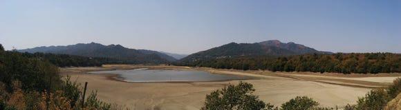 湖在Masalli 库存照片