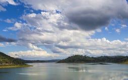 湖在Mudgee附近的Windamere 1,新南威尔斯, Austraila 免版税库存照片