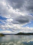 湖在Mudgee附近的Windamere 2,新南威尔斯, Austraila 图库摄影