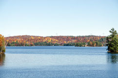 湖在Muskoka 免版税库存图片