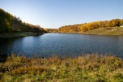 湖在Nizhni诺夫哥罗德 免版税库存照片