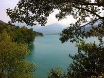 湖在Provece 免版税库存图片