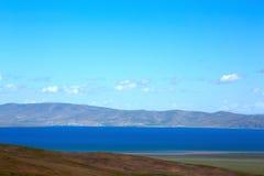 湖在Tebit 免版税库存照片