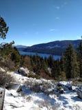 湖在Trukee 免版税库存图片