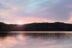 湖坎伯兰郡肯塔基 库存图片