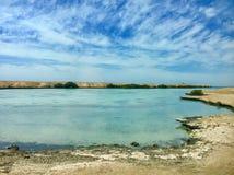 湖埃及 库存图片