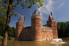 湖城堡 库存照片