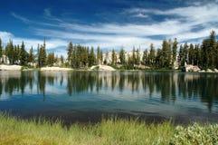 湖天空 库存照片