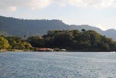 湖天际 免版税图库摄影
