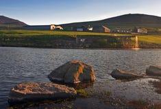湖威尔士 免版税图库摄影